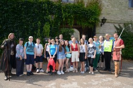 Children from Chernobyl entertained at Warwick Castle